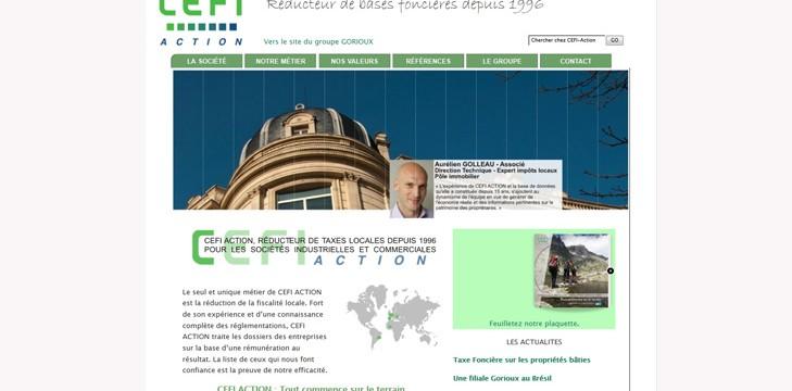 CEFI ACTION – Depuis 1996