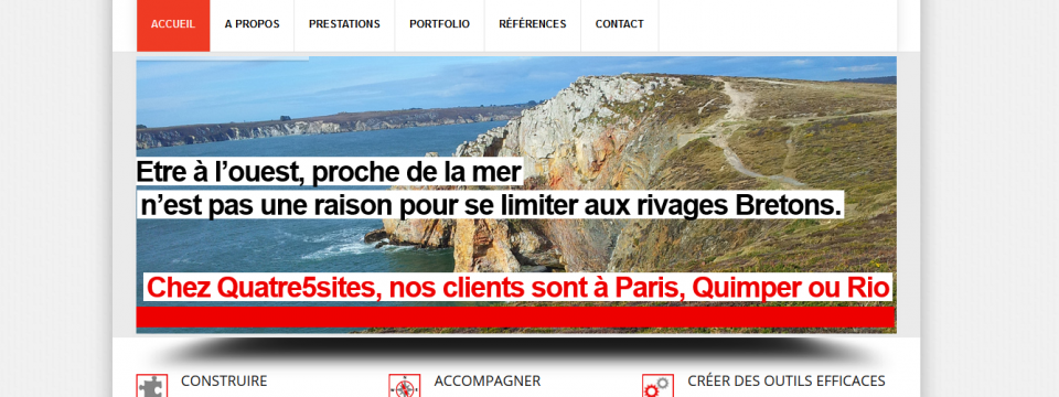 Le nouveau Quatre5sites